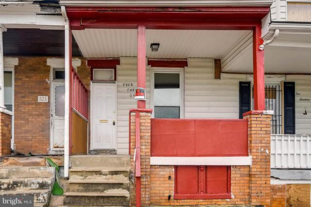 521 Longwood Street, BALTIMORE, MD 21223 (#1002062996) :: Browning Homes Group