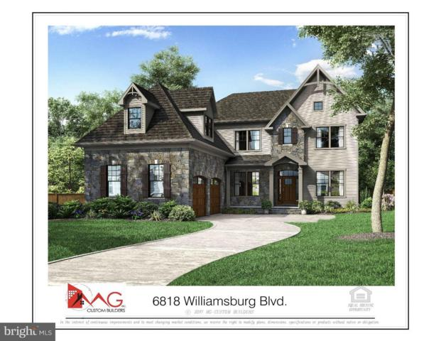 6818 Williamsburg Boulevard, ARLINGTON, VA 22213 (#1002077638) :: Advance Realty Bel Air, Inc