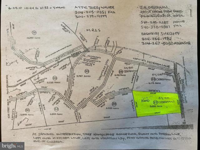 Lot 27 Parsons Road, HEDGESVILLE, WV 25427 (#1002105100) :: Eng Garcia Grant & Co.