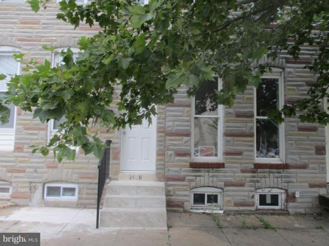 2126 Fayette Street, BALTIMORE, MD 21231 (#1002121762) :: Colgan Real Estate