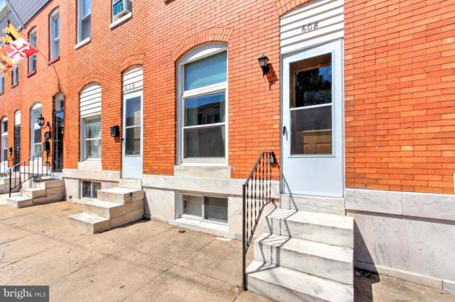 608 Newkirk Street, BALTIMORE, MD 21224 (#1002172820) :: Circadian Realty Group