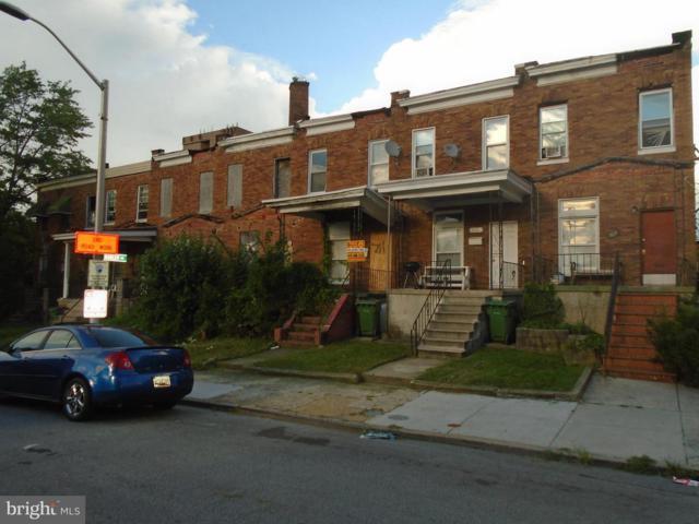 711 Longwood Street, BALTIMORE, MD 21216 (#1002236498) :: The Daniel Register Group