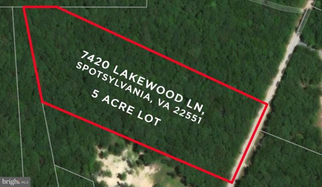 7420 Lakewood Lane, SPOTSYLVANIA, VA 22551 (#1002275148) :: Remax Preferred | Scott Kompa Group