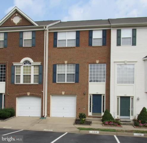 104 Chesterbrook Court, STAFFORD, VA 22554 (#1002303520) :: AJ Team Realty
