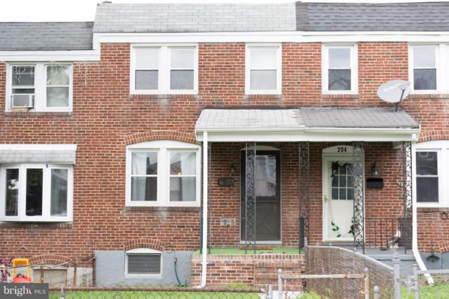 206 Edgevale Road W, BALTIMORE, MD 21225 (#1002351046) :: Great Falls Great Homes