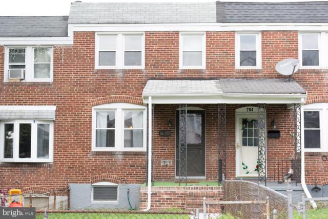206 Edgevale Road W, BALTIMORE, MD 21225 (#1002351046) :: Colgan Real Estate