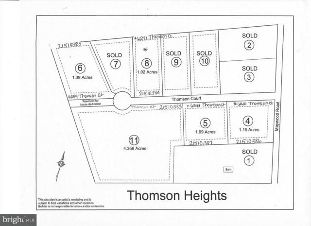 LOT 11 Thomson Court #11, THOMASVILLE, PA 17364 (#1002496502) :: The Heather Neidlinger Team With Berkshire Hathaway HomeServices Homesale Realty