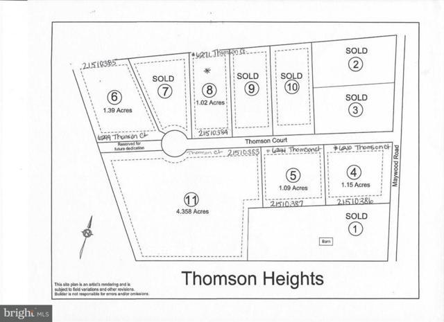 LOT 11 Thomson Court #11, THOMASVILLE, PA 17364 (#1002496502) :: LoCoMusings