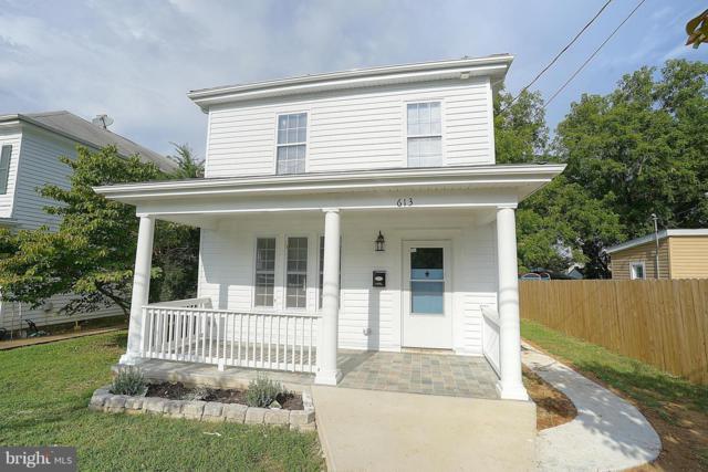 613 Spottswood Street, FREDERICKSBURG, VA 22401 (#1002607522) :: Blue Key Real Estate Sales Team