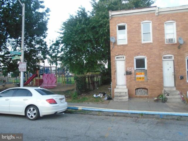 525 Catherine Street, BALTIMORE, MD 21223 (#1002617908) :: AJ Team Realty