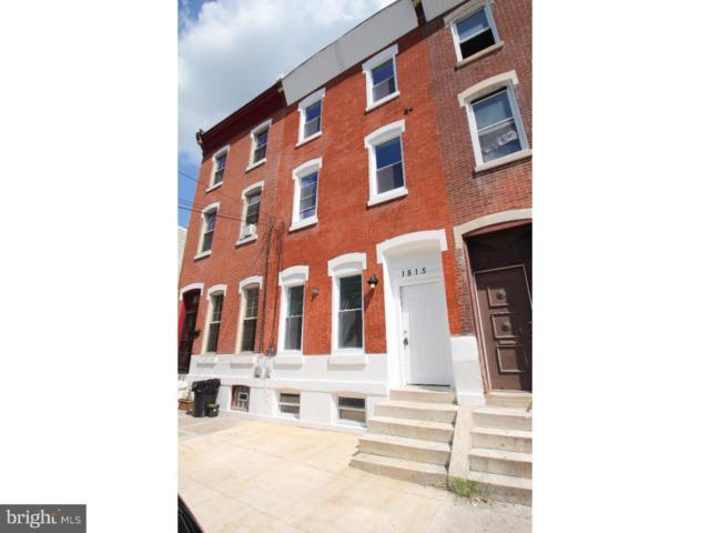 1815 N Van Pelt Street, PHILADELPHIA, PA 19121 (#1002772164) :: Jason Freeby Group at Keller Williams Real Estate