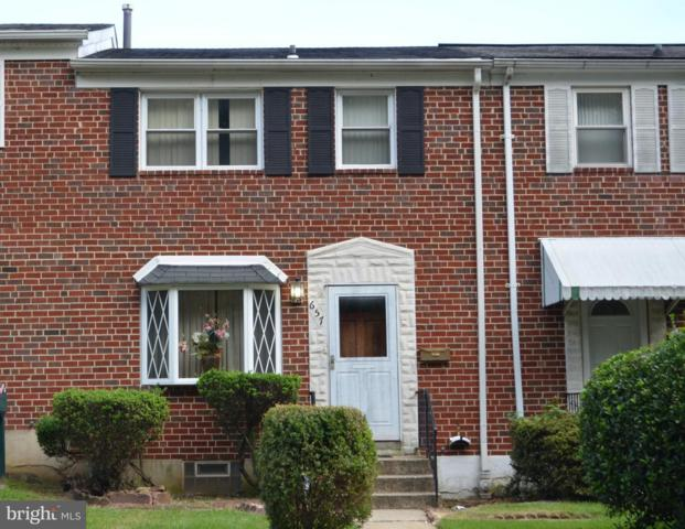 657 Wickham Road, BALTIMORE, MD 21229 (#1007536906) :: The Putnam Group