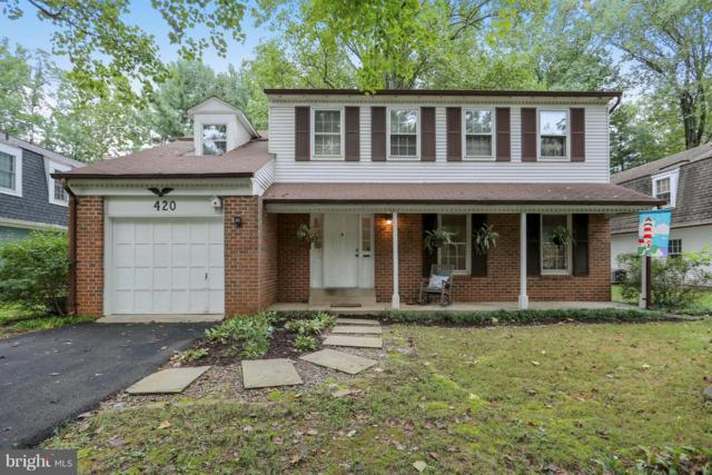420 Watts Branch Parkway, ROCKVILLE, MD 20854 (#1007537926) :: Remax Preferred | Scott Kompa Group