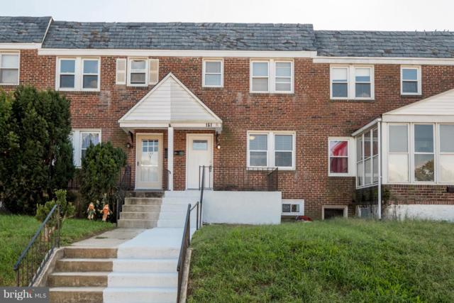 161 Meadow Road, BALTIMORE, MD 21225 (#1007544040) :: AJ Team Realty