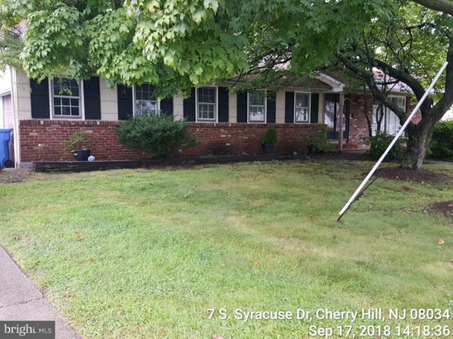 7 S Syracuse Drive, CHERRY HILL, NJ 08034 (#1007544078) :: Colgan Real Estate