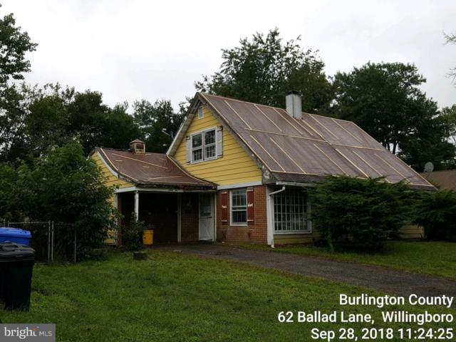 62 Ballad Lane, WILLINGBORO, NJ 08046 (#1007544104) :: Remax Preferred | Scott Kompa Group