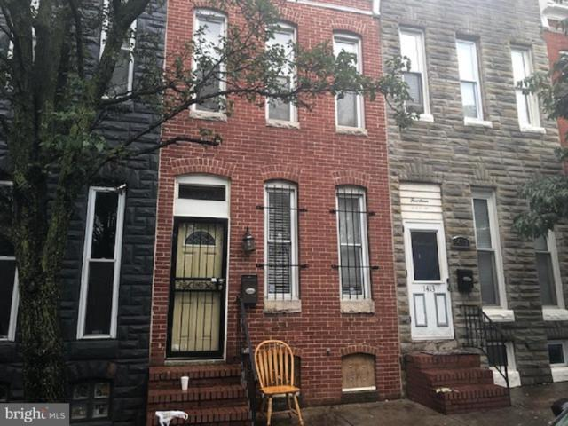 1411 Ostend Street, BALTIMORE, MD 21223 (#1008250932) :: AJ Team Realty