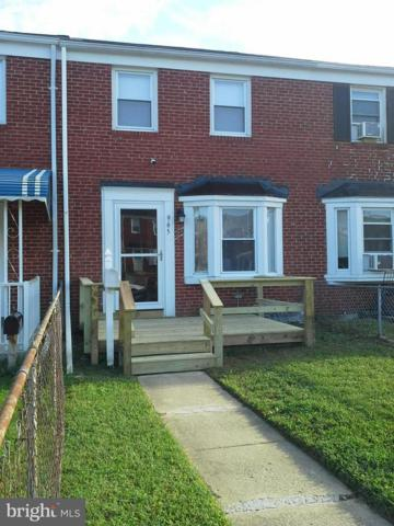 965 Middlesex Road, BALTIMORE, MD 21221 (#1008343466) :: AJ Team Realty