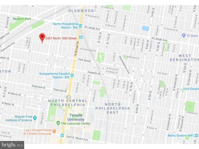 2457 N 18TH Street, PHILADELPHIA, PA 19132 (#1008355480) :: The John Wuertz Team