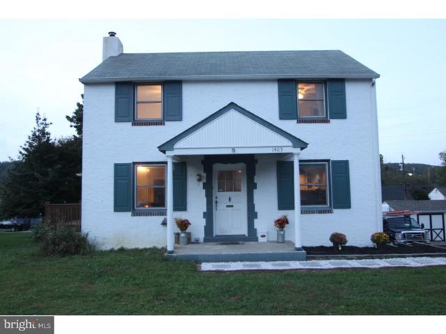 1405 Olive Street, COATESVILLE, PA 19320 (#1009932928) :: Keller Williams Real Estate