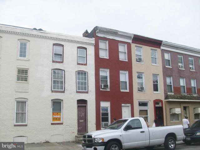 1839 W Pratt Street, BALTIMORE, MD 21223 (#1009949996) :: The Putnam Group