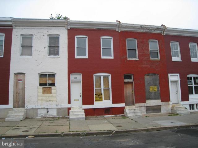1507 N Montford Avenue, BALTIMORE, MD 21213 (#1009950800) :: Labrador Real Estate Team