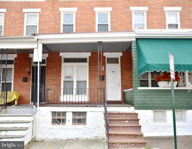 2215 Clifton Avenue, BALTIMORE, MD 21216 (#1009958374) :: The Miller Team