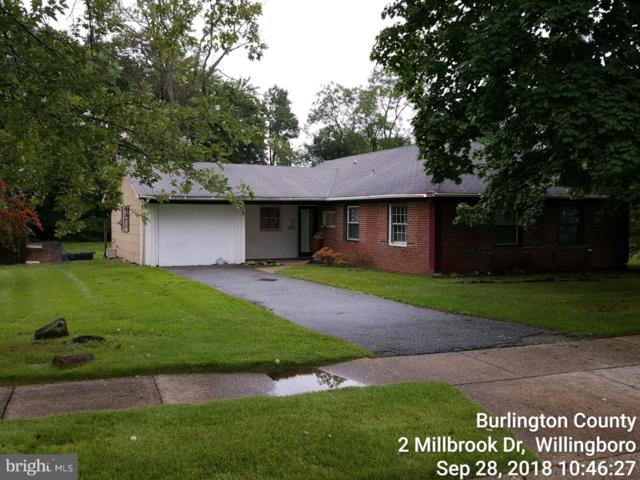 2 Millbrook Drive, WILLINGBORO, NJ 08046 (#1009979904) :: Colgan Real Estate
