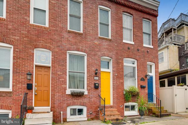 507 E Clement Street, BALTIMORE, MD 21230 (#MDBA100918) :: The Sebeck Team of RE/MAX Preferred