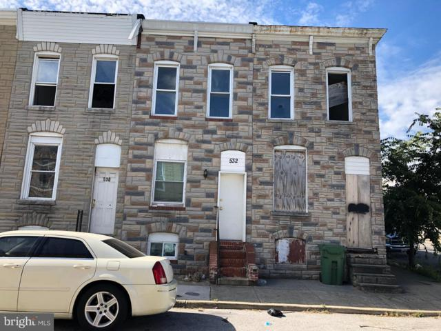 532 N Glover Street, BALTIMORE, MD 21205 (#MDBA101124) :: ExecuHome Realty