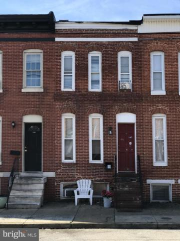1207 W Cross Street, BALTIMORE, MD 21230 (#MDBA101500) :: Bob Lucido Team of Keller Williams Integrity