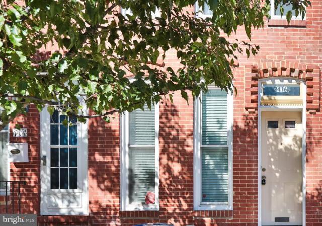 416 E Fort Avenue, BALTIMORE, MD 21230 (#MDBA102042) :: Bob Lucido Team of Keller Williams Integrity