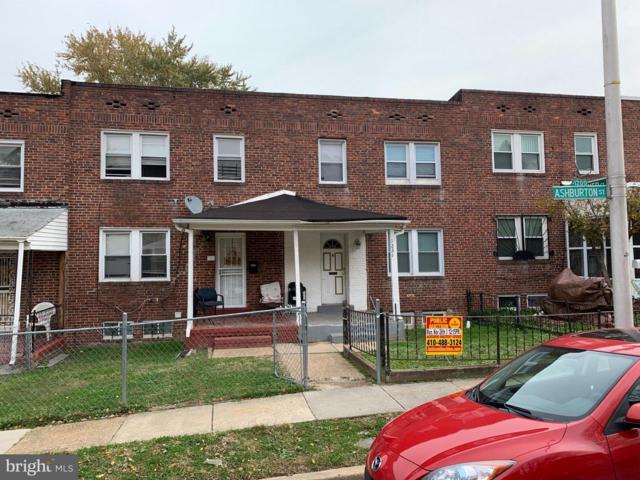 1231 Ashburton Street, BALTIMORE, MD 21216 (#MDBA102138) :: Keller Williams Pat Hiban Real Estate Group