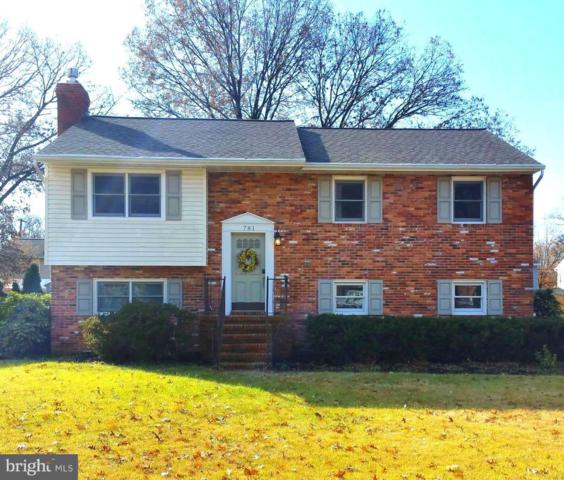 781 Martin Court E, SEVERN, MD 21144 (#MDAA101580) :: The Riffle Group of Keller Williams Select Realtors