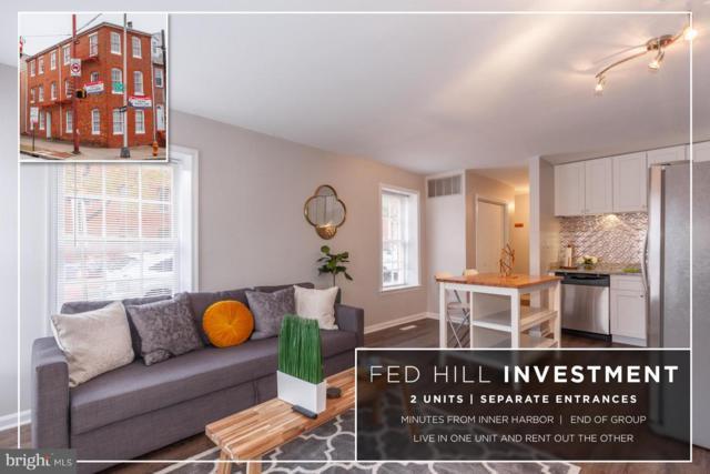 21 W Montgomery Street, BALTIMORE, MD 21230 (#MDBA102284) :: Keller Williams Pat Hiban Real Estate Group