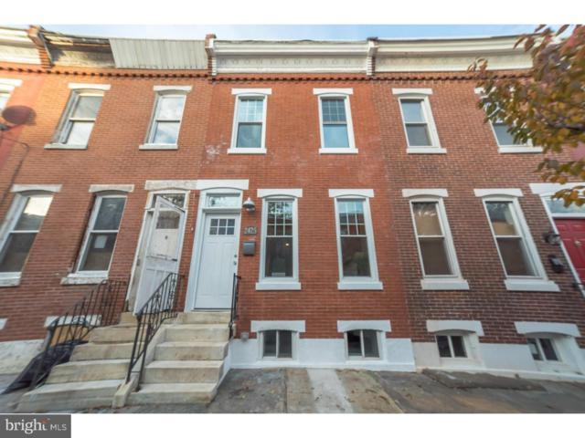 2425 Sharswood Street, PHILADELPHIA, PA 19121 (#PAPH105164) :: The John Collins Team