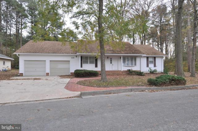 105 Brentwood Circle, POCOMOKE CITY, MD 21851 (#MDWO100876) :: The Miller Team