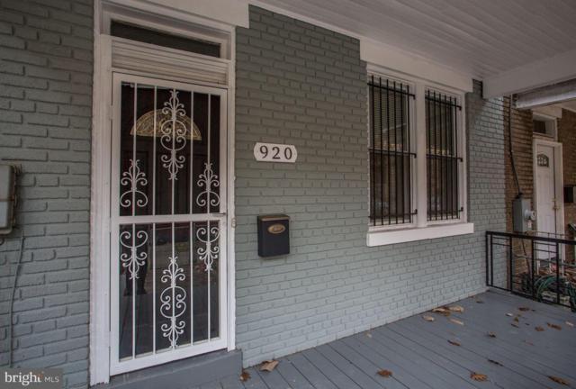 920 Longfellow Street NW, WASHINGTON, DC 20011 (#DCDC186066) :: Bob Lucido Team of Keller Williams Integrity