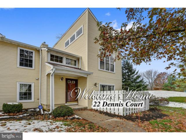 22 Dennis Court, HIGHTSTOWN, NJ 08520 (#NJME168702) :: Remax Preferred | Scott Kompa Group