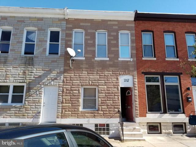217 N Lakewood Avenue, BALTIMORE, MD 21224 (#MDBA263590) :: Bob Lucido Team of Keller Williams Integrity