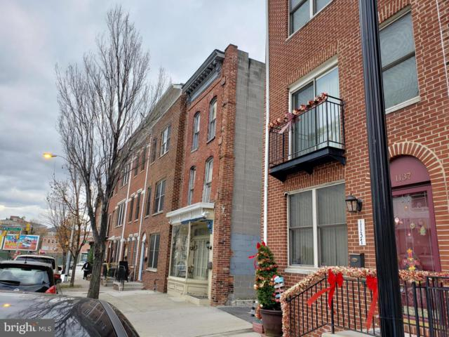 1141 E Baltimore Street, BALTIMORE, MD 21202 (#MDBA263622) :: AJ Team Realty