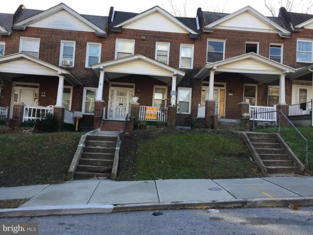 2911 Baker Street, BALTIMORE, MD 21216 (#MDBA263710) :: The Miller Team