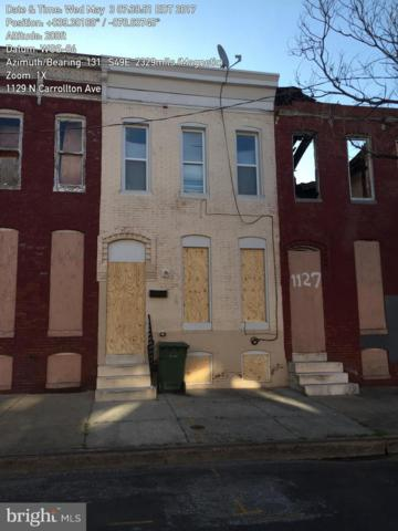 1129 N Carrollton Avenue, BALTIMORE, MD 21217 (#MDBA271946) :: The Gold Standard Group