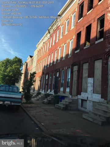 932 N Gilmor Street, BALTIMORE, MD 21217 (#MDBA278332) :: Advance Realty Bel Air, Inc