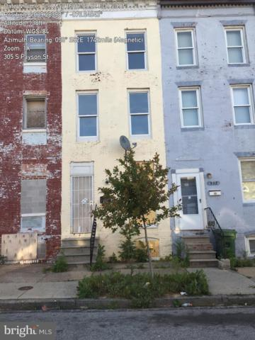 305 S Payson Street, BALTIMORE, MD 21223 (#MDBA278342) :: The Bob & Ronna Group