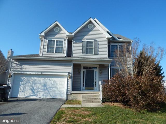 103 Beaufort Lane, MILFORD, DE 19963 (#DESU128088) :: The Allison Stine Team