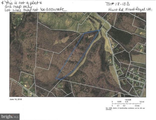LOT 2-A Hunt Rd, FRONT ROYAL, VA 22630 (#VAWR118158) :: Great Falls Great Homes