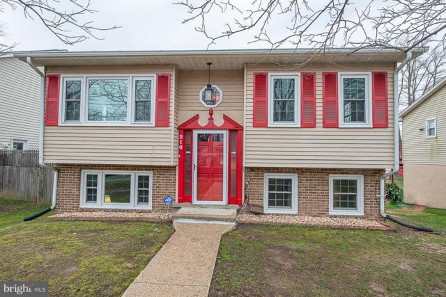 210 11TH Street, LAUREL, MD 20707 (#MDPG376778) :: Bic DeCaro & Associates