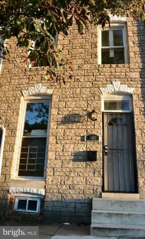 1405 Eager Street, BALTIMORE, MD 21205 (#MDBA304308) :: ExecuHome Realty