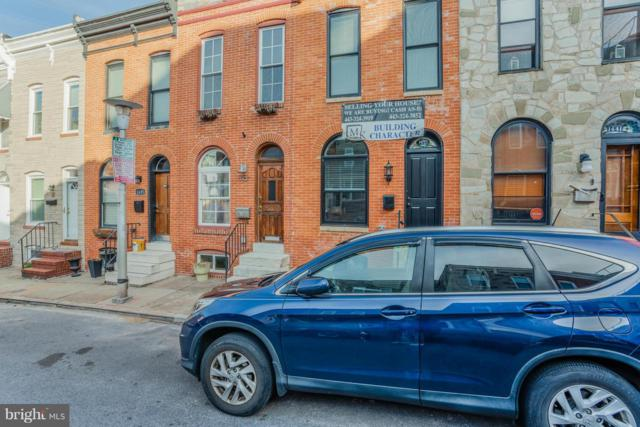 1439 Henry Street, BALTIMORE, MD 21230 (#MDBA304576) :: The France Group